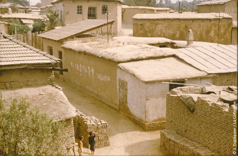 Photographie (résolution écran) : Fonds photographique Jacques Dupâquier — Voyage en URSS en 1956 — Ouzbekistan : «Tachkent-Vieille ville»