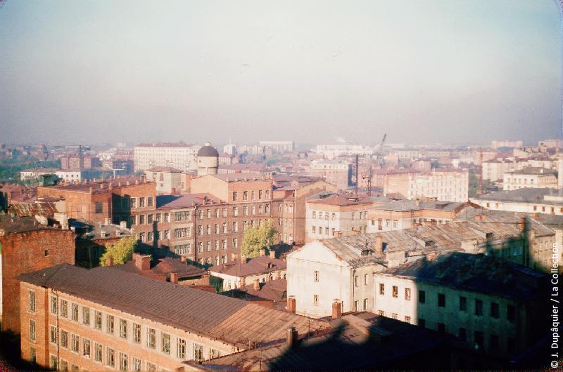 Photographie (résolution écran) : Fonds photographique Jacques Dupâquier — Voyage en URSS en 1956 — Moscou : «Moscou»