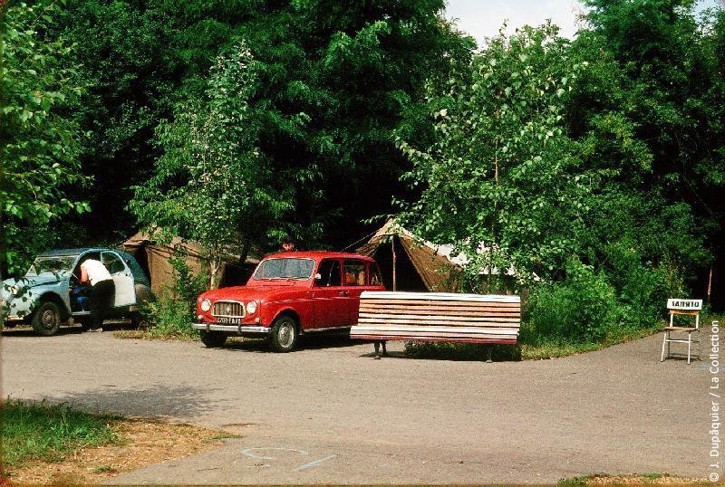 Photographie (résolution écran) : Fonds photographique Jacques Dupâquier — Voyage en URSS en 1964 — De Moscou au Caucase : «Au camp de Kharkov»