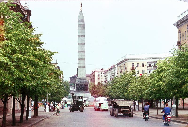 монумент Победы в минске 1964
